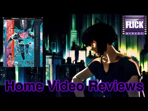 Ghost In The Shell (1995) (4K UHD) Review  | Home Video Reviews