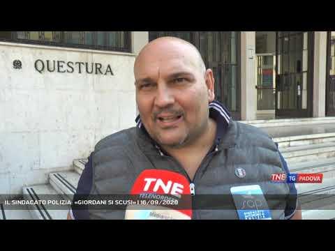IL SINDACATO POLIZIA: «GIORDANI SI SCUSI» | 16/09/2020