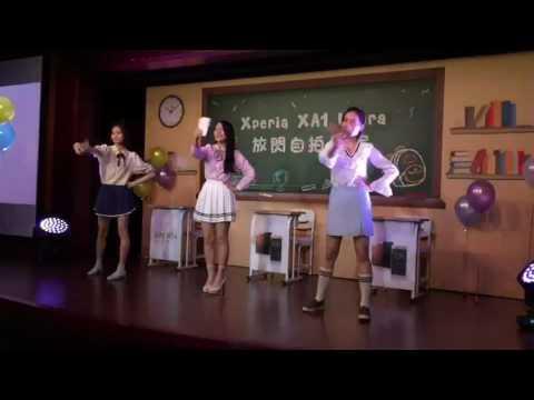 Xperia XA1 Ultra開賣  蔡瑞雪授自拍秘訣[影]
