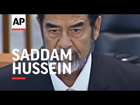 Saddam Hussein found guilty and sentenced to death by hanging