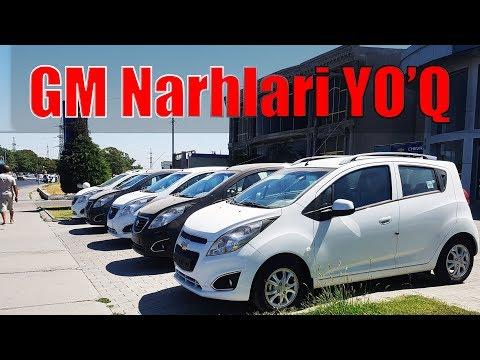 GM AVTOSALON NARXLARI 1 AVGUSTDAN онлайн видео