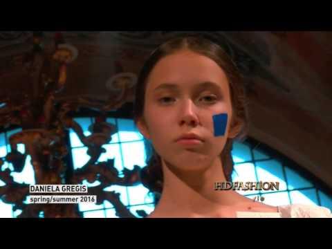 DANIELA GREGIS SS'16 | Milan Fashion Week | HDFASHION видео