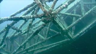 USNS General Hoyt S. Vandenberg Wreck in Key West, FL - 2009 & 2010 Footage