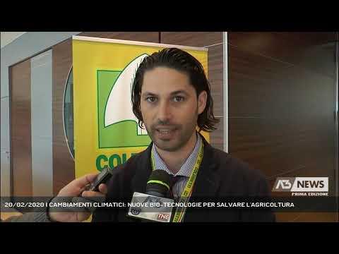 20/02/2020   CAMBIAMENTI CLIMATICI: NUOVE BIO-TECNOLOGIE PER SALVARE L'AGRICOLTURA