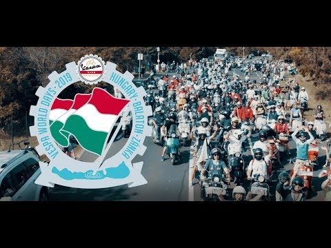 Vespa World Days 2019 - official LONG video