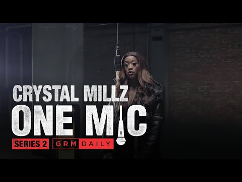 Crystal Millz – One Mic Freestyle | GRM Daily
