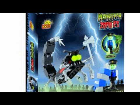 Video YouTube video advertisement of the Monster Scorpion Vs Zombies Toy