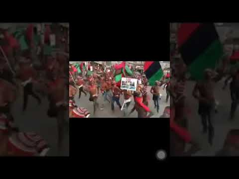 Despite Warning From The Nigerian Army, IPOB Still Went Ahead To Rally For Boycott Of 2019 Election