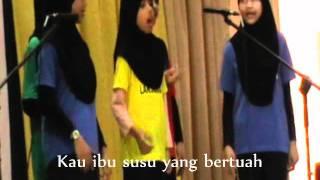 Puteri Islam SK Taman Melawati 1 - Nasyid Halimatus Saadiah lagu asal - In Team 02 Julai 2011 - Larian 1 Murid 1 Sukan SKTM.