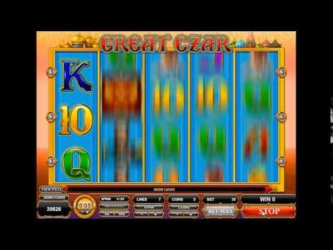 Slot-OK представляет обзор азартного игрового автомата Великий Царь