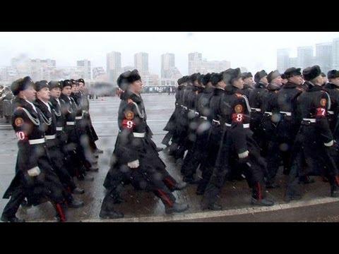 Moscou: répétition d'une reconstitution de la parade de 1941