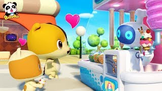 Video Magical Ice Cream Robot Vending Machine | Baby Kitten Loves Ice Creams | Kids Song | BabyBus MP3, 3GP, MP4, WEBM, AVI, FLV Januari 2019