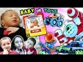 SKY BABY vs WAVE 3 TOYS SURPRISE!  Who The Kids Pick! (SKYLANDERS SUPERCHARGERS)