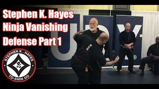 Video Grand Master Stephen K. Hayes: Ninja Vanishing Defense Part 1 MP3, 3GP, MP4, WEBM, AVI, FLV Agustus 2019