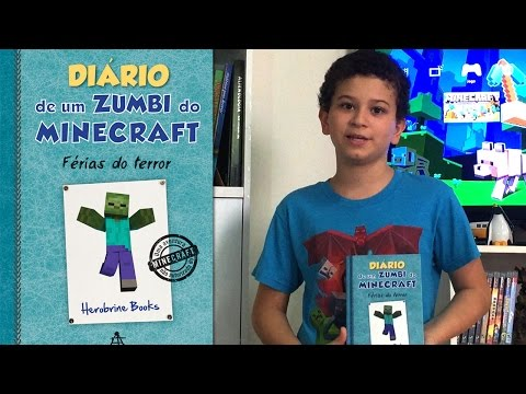 Diário de Um Zumbi do Minecraft: Férias do Terror - Vol.3