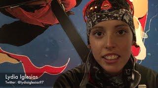 """Lydia Iglesias: """"Cuesta compaginar esquí y enfermería, pero con ganas se puede"""""""