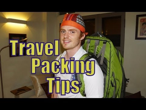 Travel Packing List for an around the world backpacking trip