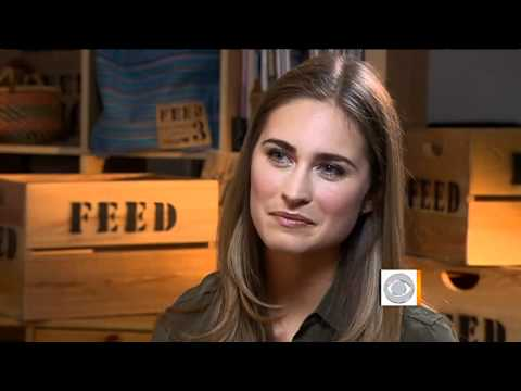 The Early Show - Lauren Bush Lauren: Feeding hope