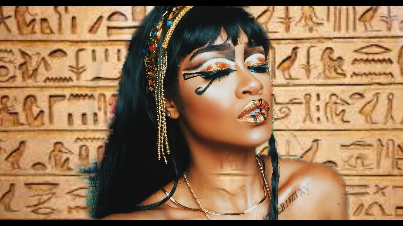Halloween makeup for black girls sheunplugged queen makeup tutorial youtube video preview baditri Image collections