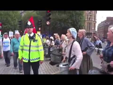 "LONDON HEALTH CARE CUTS PROTEST, ""2014 SOLOAROUNDWORLD IN 25 DAYS"", PAUL HODGE, CH 12"