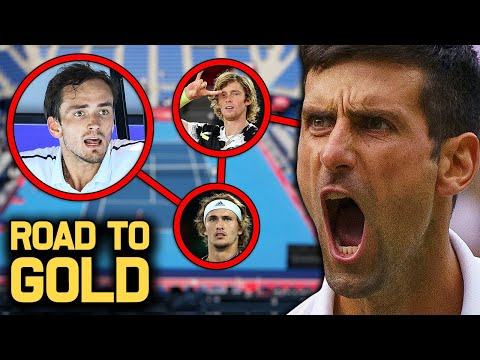 Novak Djokovic | Road to Gold : Tokyo Olympics 2021 | Tennis News