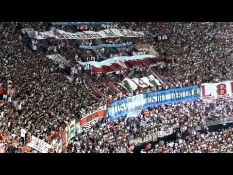 GOL DE TEO + DELIRIO - River Plate vs Estudiantes LP - Copa Sudamericana 2014 - Los Borrachos del Tablón - River Plate