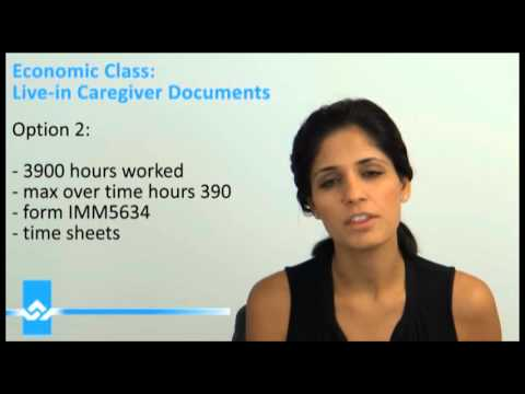 Live in Caregiver Documents for Permanent Residency Video