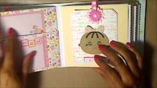 "Thanks for visiting today. Hope you enjoy this really cute and simple Mini Album I made following ""My Sisters Scrapper 6x6 Mini Album Tutorial. Don't forget to thumbs up and subscribe.       Thanks again for visiting."