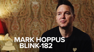 <b>Mark Hoppus</b> On Blink182s Evolution First GRAMMY Nomination & Tom Ford Suits  59th GRAMMYs