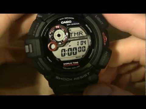 G-Shock G-9300 Mudman - One Mean Mudder