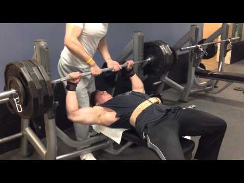 425lb paused bench for 1 rep