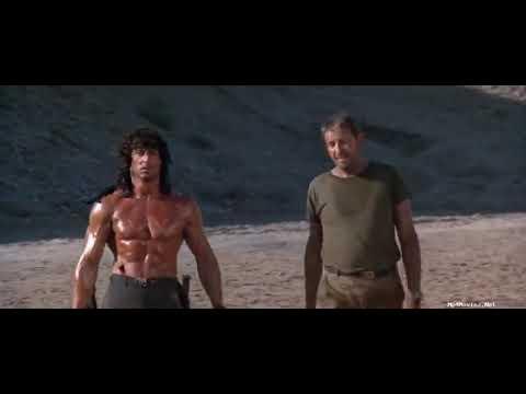 Rambo 3 final fight Afghanistan