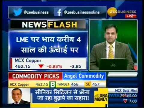 Buy Copper with a target of INR 466- Mr. Anuj Gupta, Zee Business, 2nd January