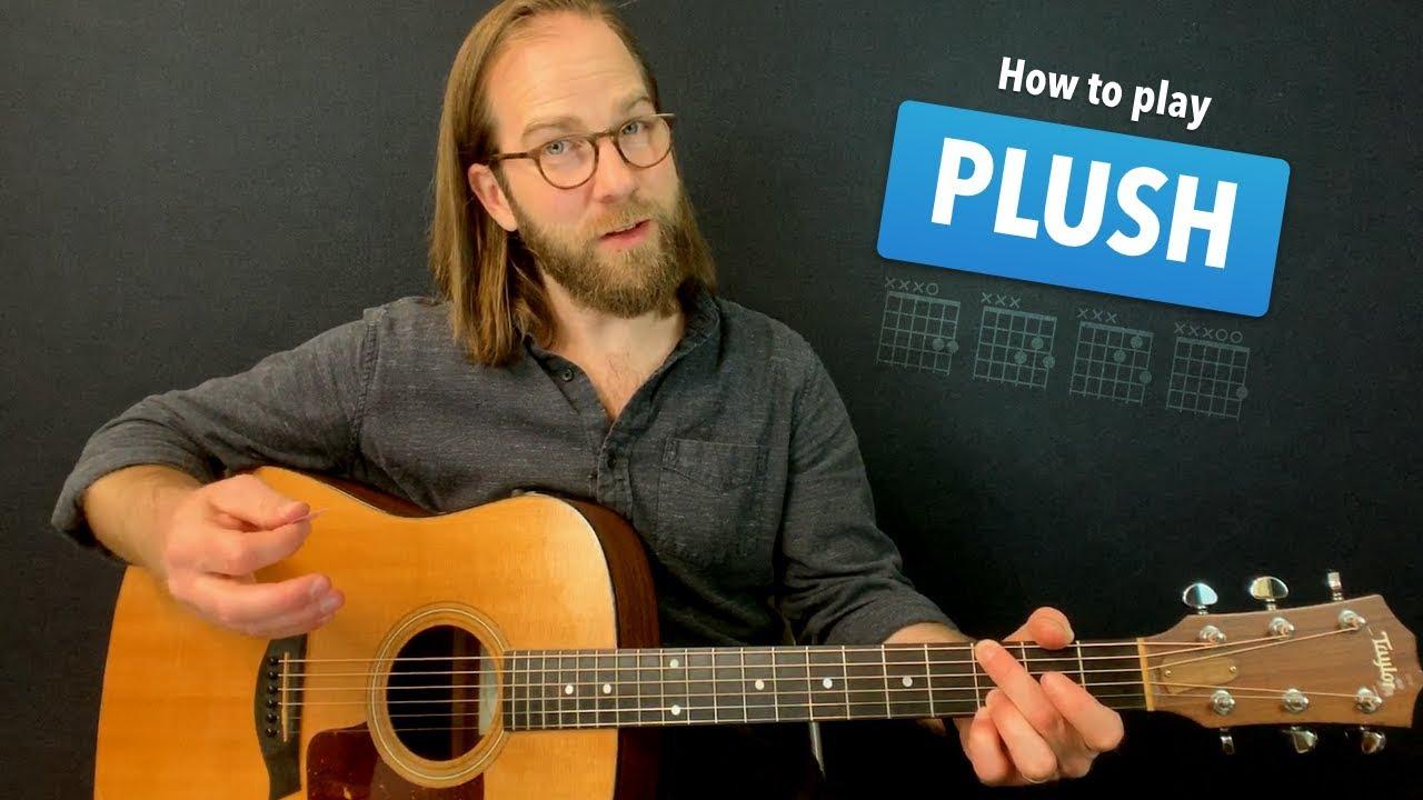 Plush • Acoustic w/ tabs • STP guitar lesson