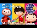 Nursery Rhymes Collection | Volume 8 | 54 Minutes Compilation from LittleBabyBum!