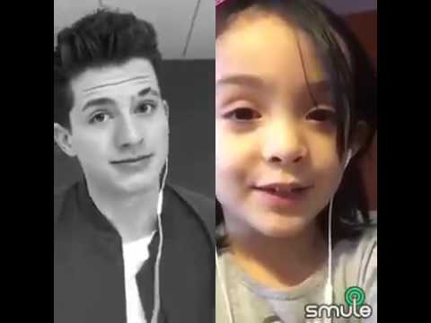 (duet on Smule app) One Call Away - Charlie Puth & Joana (видео)