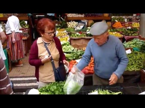 Madeira: Funchal - Farmers marked - a good Video from Madeira