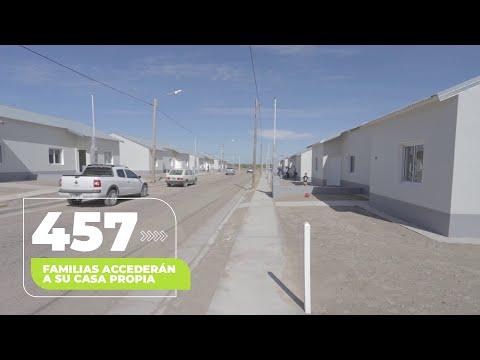 457 familias de General Roca accederán a su casa propia