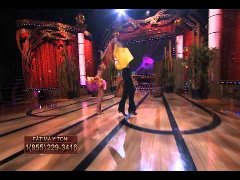 Baile de Fatima Torre, Sabor Latino de la Semifinal  - Thumbnail