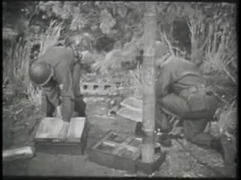 Video. Instructivo para el uso de una cocina de campaña en el ejército norteamericano luego de la SGM