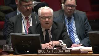 Vitaly Churkin reply to US Ambassador Nikki Haley in her first appearance at the UN Security Council, 02 Feb 2017.