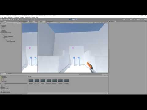 Let's Try Shooting With Raycasts test from Unity converted to VR - work in progress