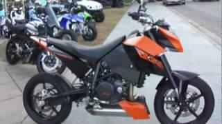 4. 2010 KTM 690 Duke