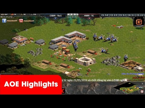 AOE HighLights - Trận chém cực phũ của No1 khi được cầm chém tuyển Summerian