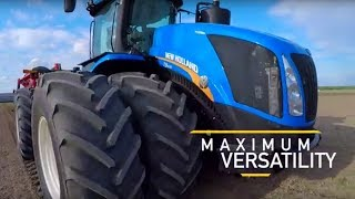 10. New Holland's 2018 Model Year T9 Tractor