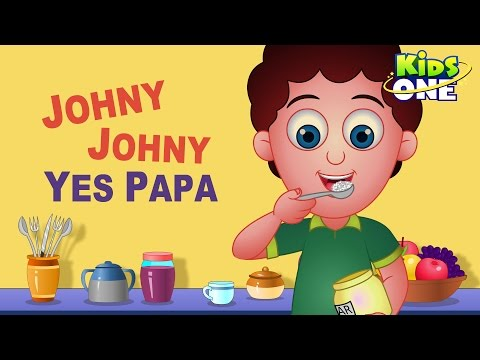 Johny Johny Yes Papa Nursery Rhyme | Popular Nursery Rhymes for Children