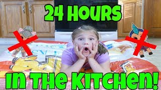 Video 24 Hours Overnight In The Kitchen! 24 Hour Challenge With No LOL Dolls and No Toys MP3, 3GP, MP4, WEBM, AVI, FLV Desember 2018
