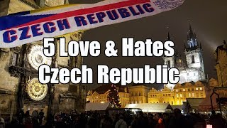 http://www.woltersworld.com Thinking of visiting The Czech Republic? Here are the best and worst parts for tourists thinking of...