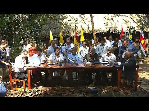 Kolumbien: Amazonas-Anrainer schließen Pakt zu ...