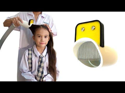Head Lice Vacuum Comb Attachment